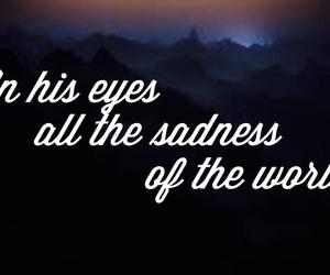 cry, dark, and eyes image