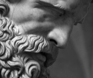 ancient greece, marble, and statue image