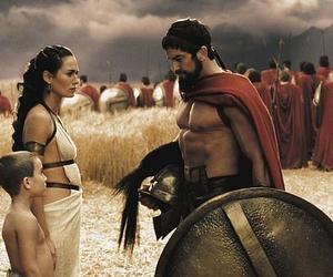 300, movie, and grecia image