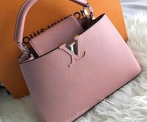 bag, handbag, and Louis Vuitton image