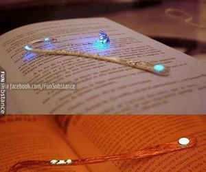 bookmarks, magic, and reading image