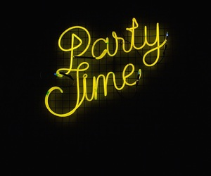 light, neon light, and party time image