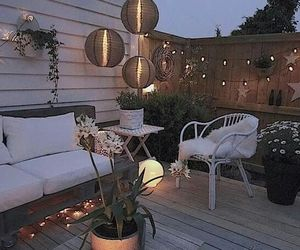 candle, garden, and nice image