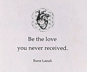 heart, literature, and quote image