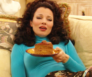 the nanny, cake, and fran drescher image