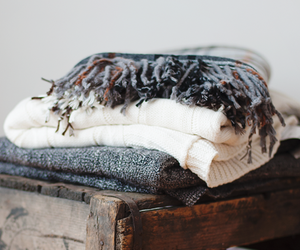 scarves, warmth, and winter image
