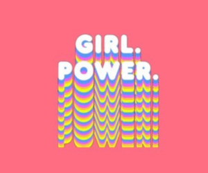 aesthetic, girl power, and pink image