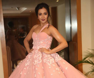 pink dress, tamil actress, and south indian actress image