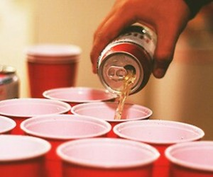 party, beer, and drink image