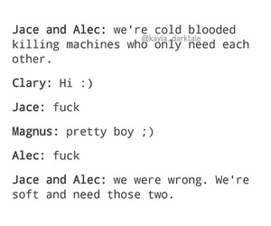 maleç, clace, and shadowhunters image