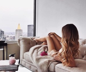 beauty, city, and ombre image