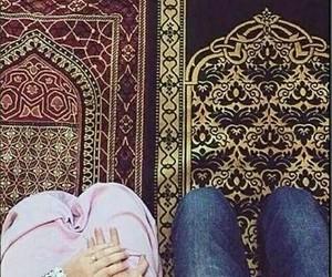islam, muslim, and couple image