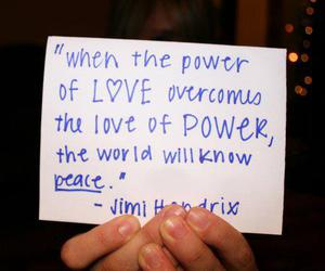 hippie, love, and peace image
