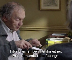 quote, amour, and film image