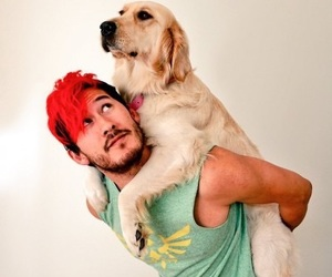mark, dog, and red hair image