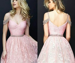 dress, pink, and sherri hill image
