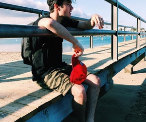 aaron carpenter and beach image