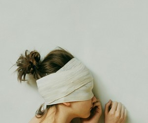 girl and blind image