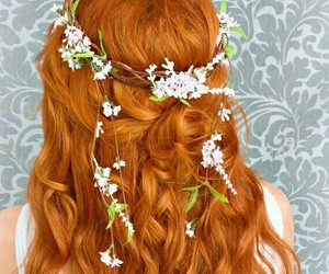 fashion, ginger, and hair image