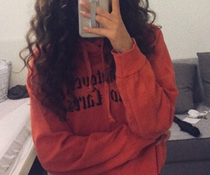 chill, curls, and curly image