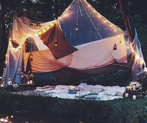 blankets, tents, and netflix image