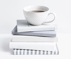 books, photography, and tea image