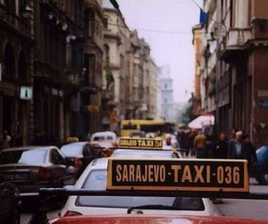 sarajevo, indie, and taxi image