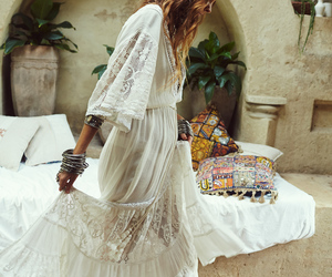 fashion, boho, and dress image