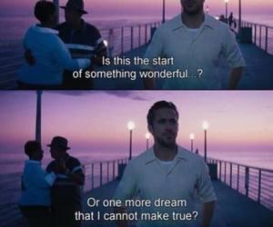 la la land, Dream, and ryan gosling image