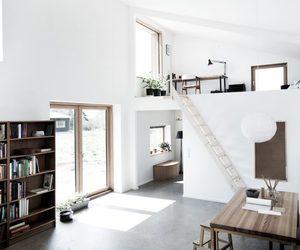 book shelf, creative, and interior image