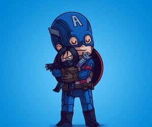 art, captain america, and comics image