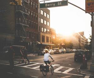 adventure, architecture, and bike image