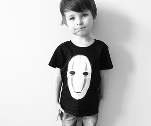 adorable, blackandwhite, and boy image