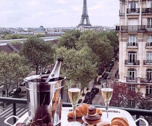 paris, beautiful, and food image