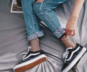 aesthetic, vintage, and denim jeans image