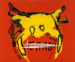art, crab, and Jean-Michel Basquiat image