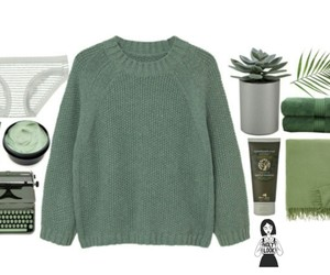 green and outfit image