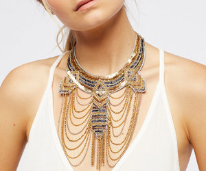 collar, jewelry, and metal image