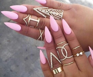 pink, tumblr, and want image