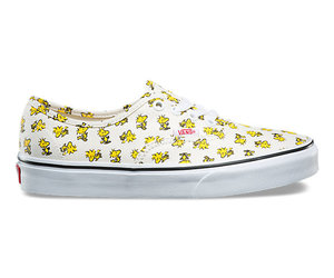snoopy, yellow, and vans x peanuts authentic image
