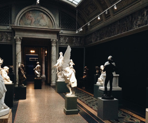 museum, art, and aesthetic image