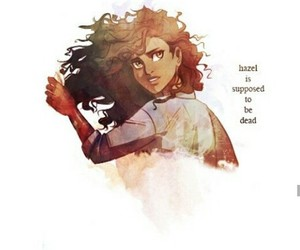 hazel levesque, percy jackson, and heroes of olympus image