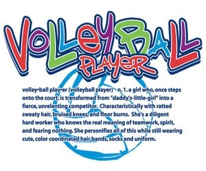 definition, player, and volleyball image