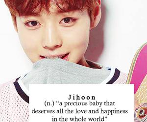 kpop, jihoon, and lockscreen image