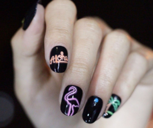 korea, nail art, and nails image