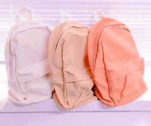 pink, bag, and pastel image