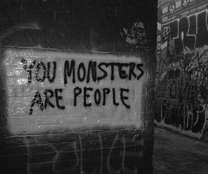 monster, people, and quotes image