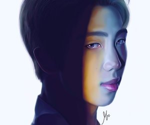 bts, fanart, and namjoon image