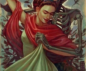 death, Frida, and love image