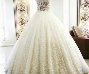 dress, love, and bridal image